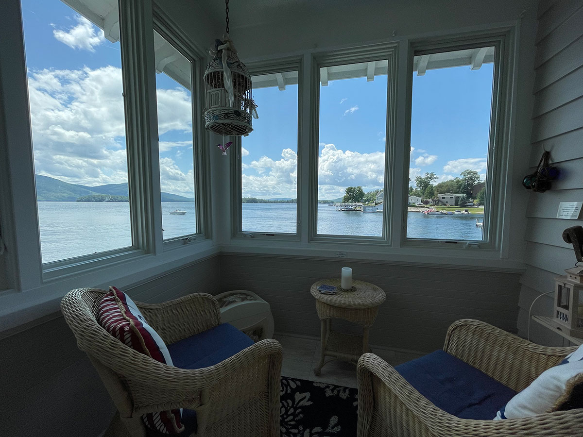 The Oliver Suite lake view